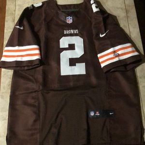 Other - Cleveland Browns Manziel football 🏈 Jersey